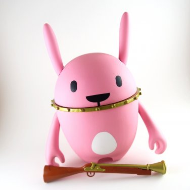 7.5 inch Nedzed pink rabbit included mini figure