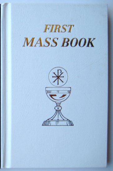 My First Mass Book - White