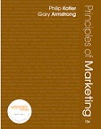 Principles of Marketing / 12th edition / Kotler / isbn 0132390027
