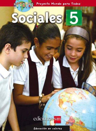 MUNDO PARA TODOS - SOCIALES 5    /  isbn 1933279787 / Ediciones SM