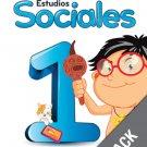 Sociales 1 ( Pack) Serie Para Crecer (isbn:9781618754813) (Ediciones Santillana)