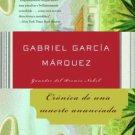 Cronica De Una Muerte Anunciada - Spanish Edition - por Gabriel Garcia Marquez - isbn 1400034957