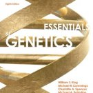 Essentials of Genetics Plus Study Guide and Solutions Manual 8th - William Klug - isbn 9780321912596