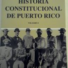 Historia Constitucional de Puerto Rico Vol 1 (2012) - Jose Trias Monge (monje)  - isbn