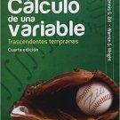 Calculo de Una Variable Transcendentes Tempranas 4ta Edicion - Dennis Zill  - isbn 9786071505019