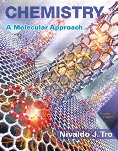 Chemistry: A Molecular Approach Plus MasteringChem eText (4th Edition)  9780134103976