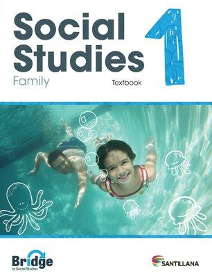 Social Studies 1 - Textbook - Serie Puente del Saber - isbn 9781618756251 - Ediciones Santillana