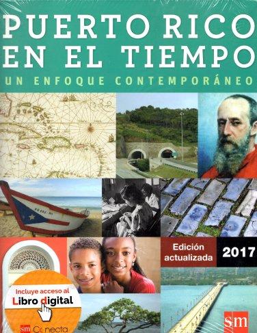 Puerto Rico en el Tiempo Un Enfoque Contemporaneo � 2017 - isbn 9781630143664