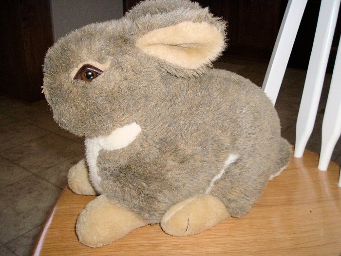 """Stuff Bunny 13""""x10"""" so cute and soft"""