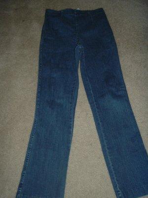 Woman's petite stretch jeans 26-32/28 boot cut FREE SHIP