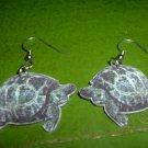 Acrylic turtle earrings  FREE SHIP