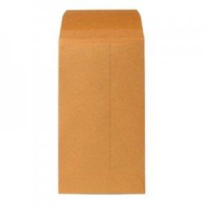 100 KRAFT Coin envelopes 3 1/8 x 5 1/2 gummed flap FREE SHIP
