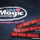 Save Magic Mountain T-Shirt and Sticker Combo