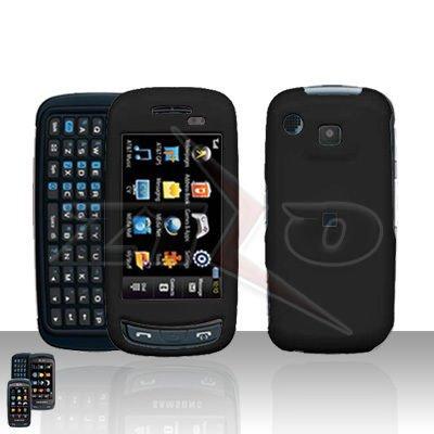 Black Hard Case Snap on Cover for Samsung Impression A877