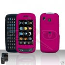 Pink Hard Case Snap on Cover for Samsung Impression A877