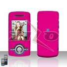 Sam Sch A777 Samsung A777 Pink Cover Case Rubberized Snap on Protector plus Car Charger