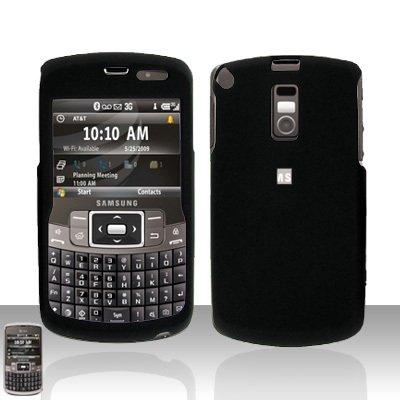 Black Cover Case  Hard Case Snap on Protector for Samsung Jack i637