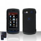 LG Xenon  GR 500  Carbon Cover Case Hard Case Snap on Cover + LCD Screen Cover +Car Charger