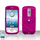 T-MOBILE HTC G2 MyTouch 3G Pink Cover Case Rubberized  Snap on Protector
