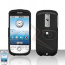 T-MOBILE HTC G2 MyTouch 3G Black Cover Case Rubberized  Snap on Protector