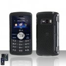 Carbon Fiber Design Cover Case Snap on Protector for LG env3 VX9200