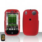 Palm Pre Red Diamond Rubberized Cover Case Snap on Protector