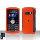 Orange Rubberized Cover Case Snap on Protector for LG env3 VX9200