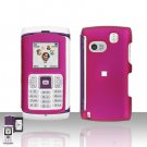 Samsung Comeback T559 Pink Cover Case Rubberized  Snap on Protector