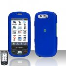 Blue Cover Case Rubberized  Snap on Protector for Samsung Highlight T749