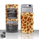 Giraffe Rubberized Hard Case Snap on Protector for Samsung Propel Pro i627