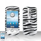 T-MOBILE HTC G2 MyTouch 3G Zebra Cover Case Rubberized  Snap on Protector