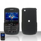 Blackberry Curve 8520 8530 Carbon Fiber Rubberized Cover Case Snap on Protector