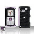 Samsung Comeback T559 Carbon Fiber Cover Case Rubberized  Snap on Protector