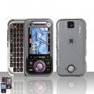 Clear Transparent Cover Case Hard Snap on Protector for Motorola Rival A455