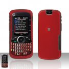 Red Cover Case Hard Snap on Protector for Motorola Clutch i465