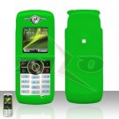 Green Cover case Rubberized Hard Case Snap on Protector for Motorola Renew W233