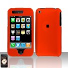 Orange Cover Case Snap on for Apple iPhone 3G iPhone 3GS
