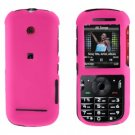 Snap On Case Cover Pink + Car Charger for Motorola Cadbury VE440