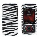 Snap On Case Cover Zebra for Motorola Debut i856