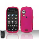 Pink Cover Case Snap on Protector for Samsung Instinct HD M850