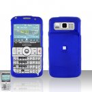 Samsung Code i220 Blue Cover Case Snap on Protector + Car Charger