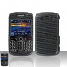 Blackberry Bold 9700 Onyx Carbon Fiber Cover Case Snap on Protector + LCD Screen Guard