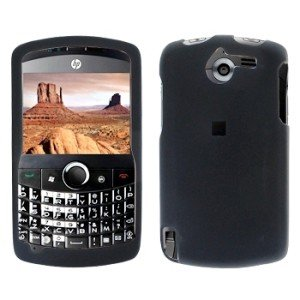 Black Case Cover Snap on Protector for HP iPAQ Glisten