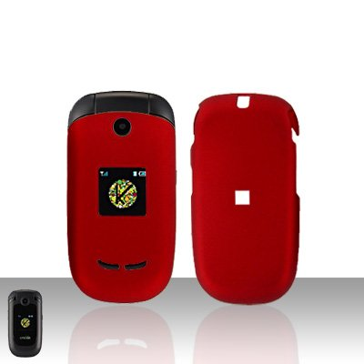 Cricket CARTR A200 Red Case Cover Snap on Protector A 200