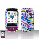 Huawei Tap Rainbow Zebra Case Cover Snap on Protector