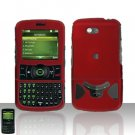 UTStarcom PCD Razzle TXT8030 Red Case Cover Snap on Protector TXT 8030
