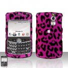 Blackberry Curve 8330 8300 Pink Leopard Hard Case Snap on Cover