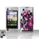 Motorola Devour A555 Arrow Heart Case Cover Snap on Protector