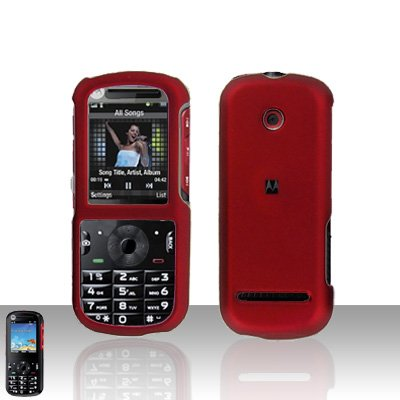 Snap On Case Cover Red for Motorola Cadbury VE440