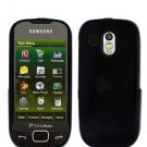 Black Cover Case Snap on Protector + Car Charger for Samsung Calibur R850